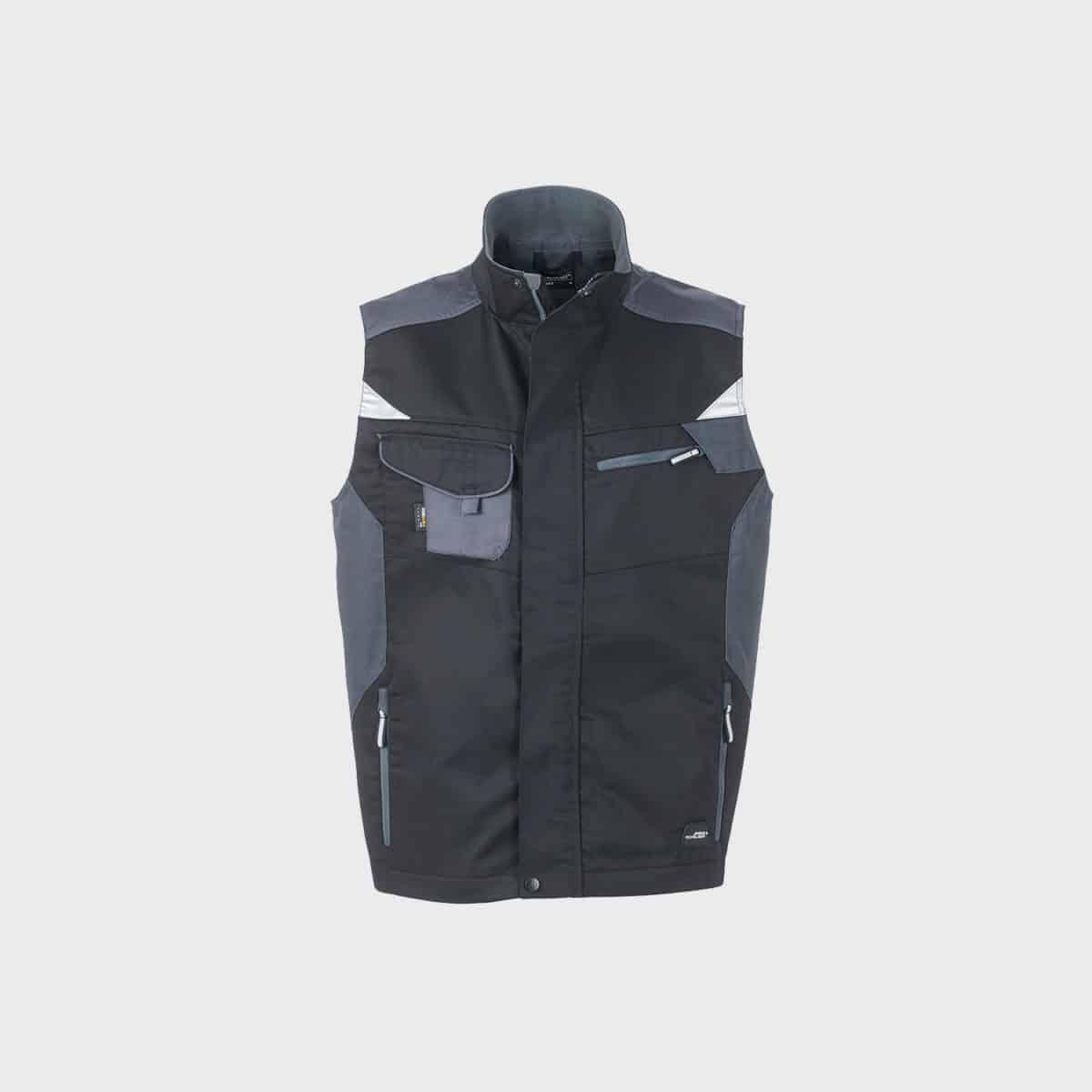 professionelle-arbeitsweste-workwear-black-carbon-kaufen-besticken_stickmanufaktur