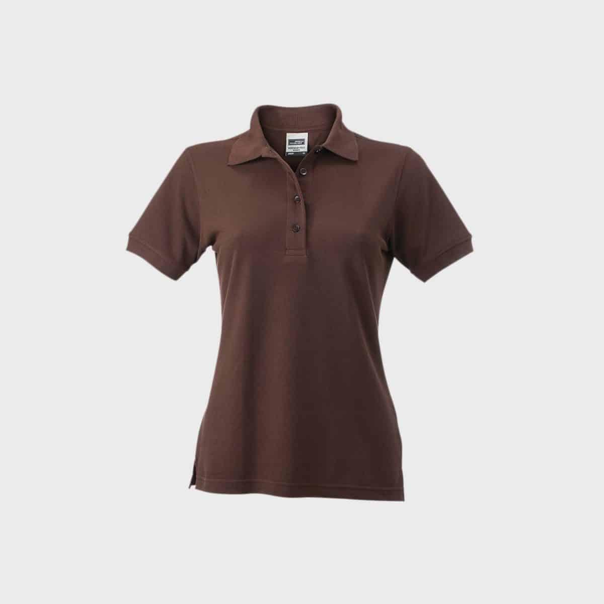 Daiber Polos JN829 Brown Front
