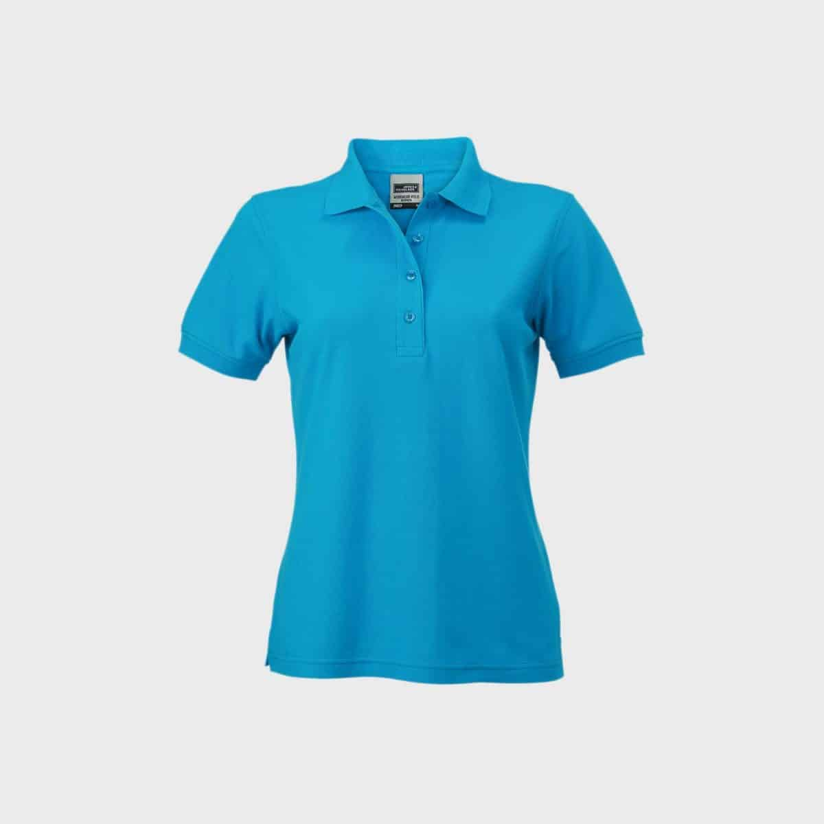 Polos JN829 Turquoise Front