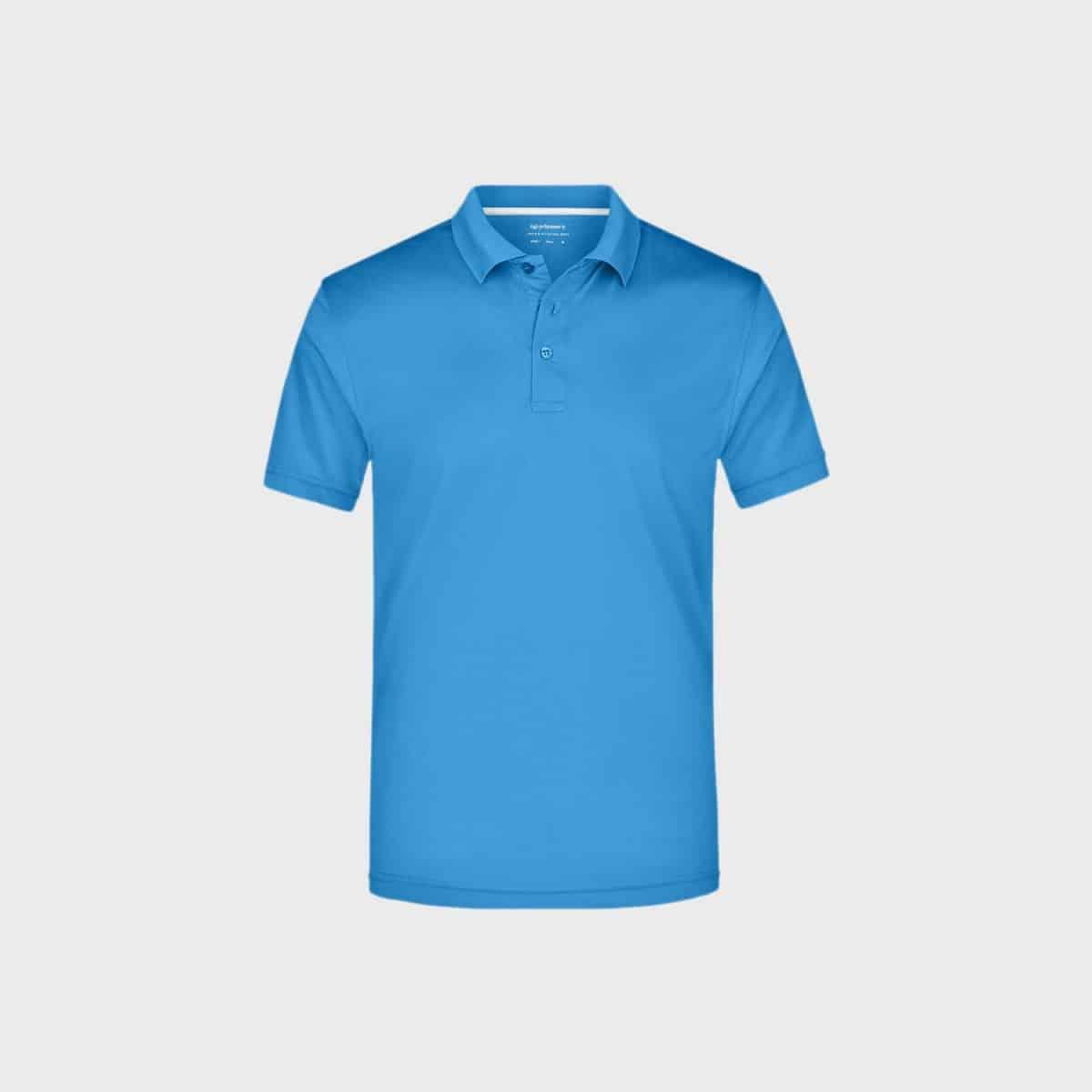 Daiber SportShirts JN401 Azur Front