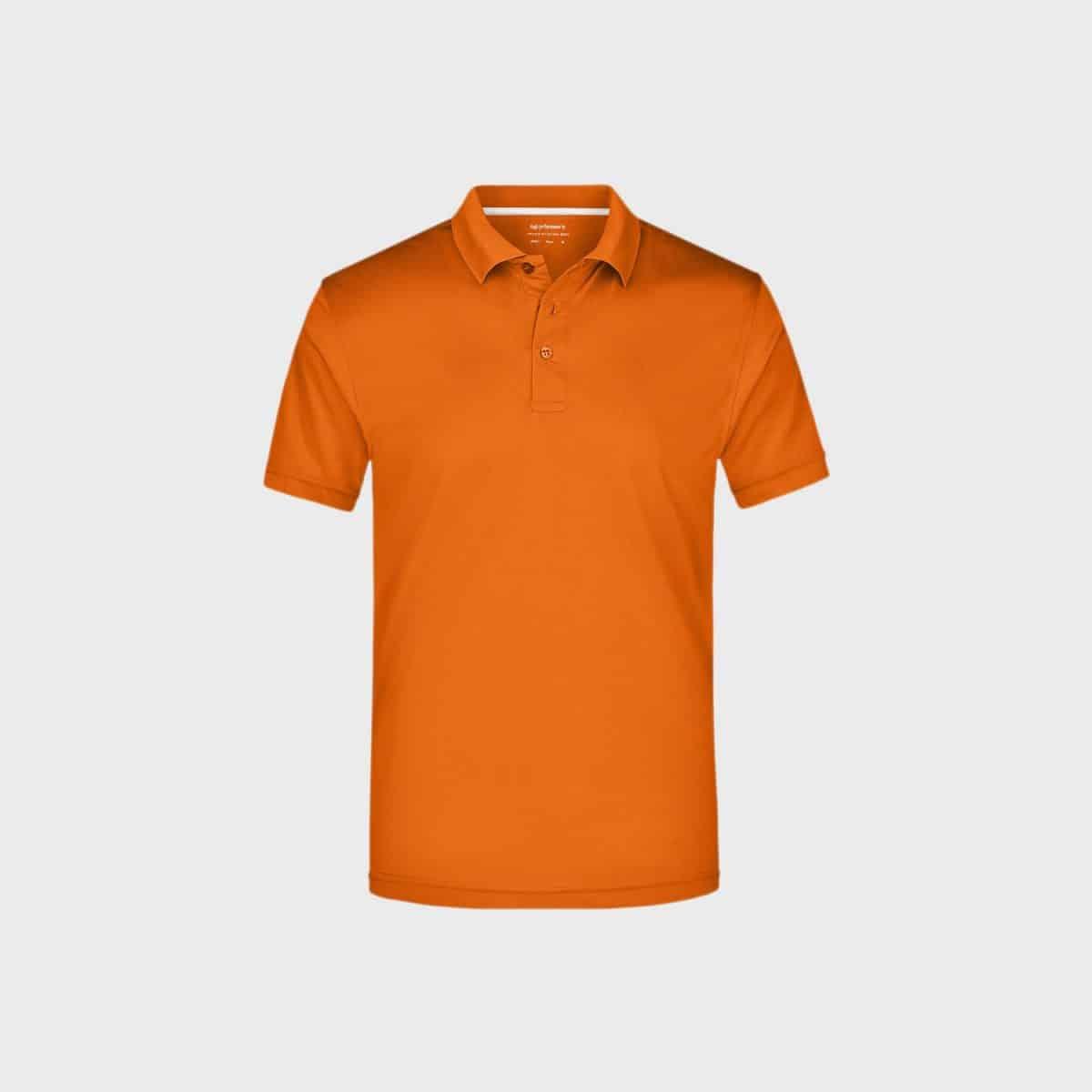 Daiber SportShirts JN401 Orange Front