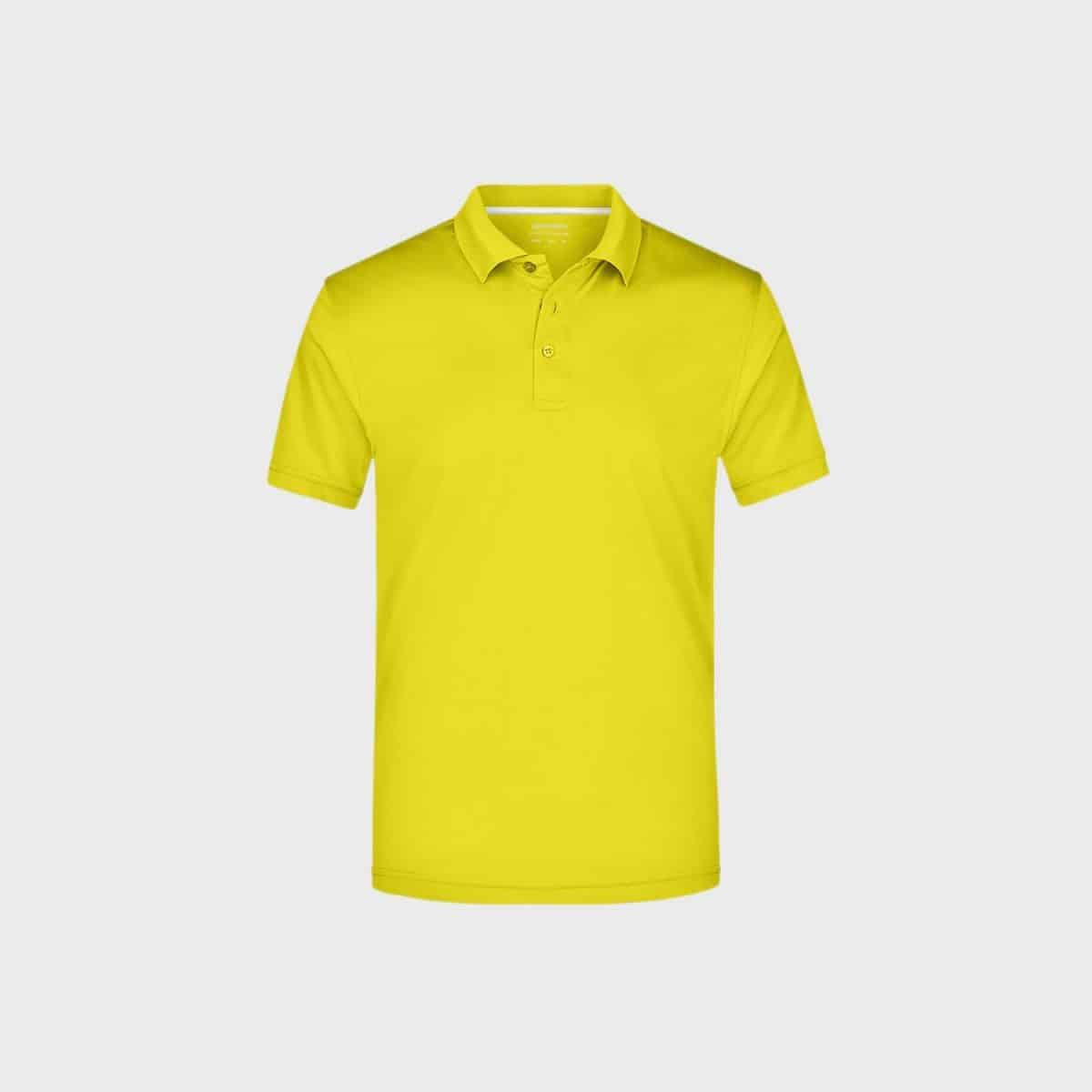 Daiber SportShirts JN401 Yellow Front