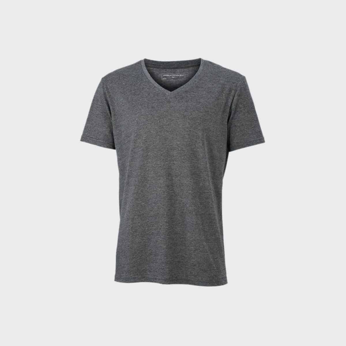 Daiber T Shirts JN974 Blackmelange Front