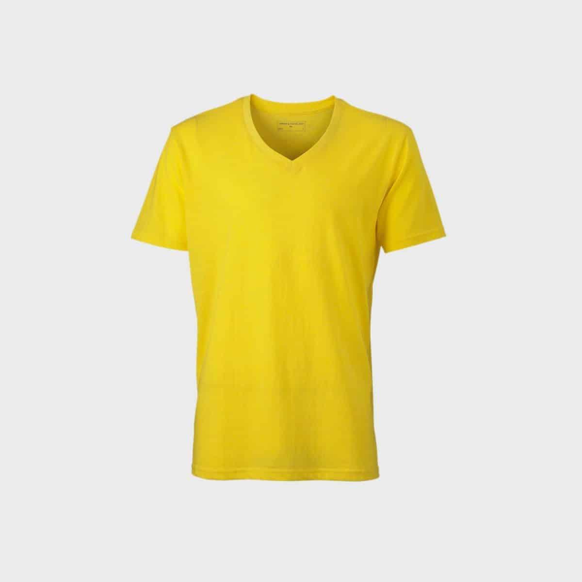 Daiber T Shirts JN974 Yellowmelange Front