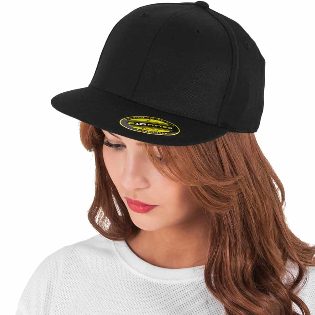 Flexfit FlexfitCaps FFE 6210 Black Model W