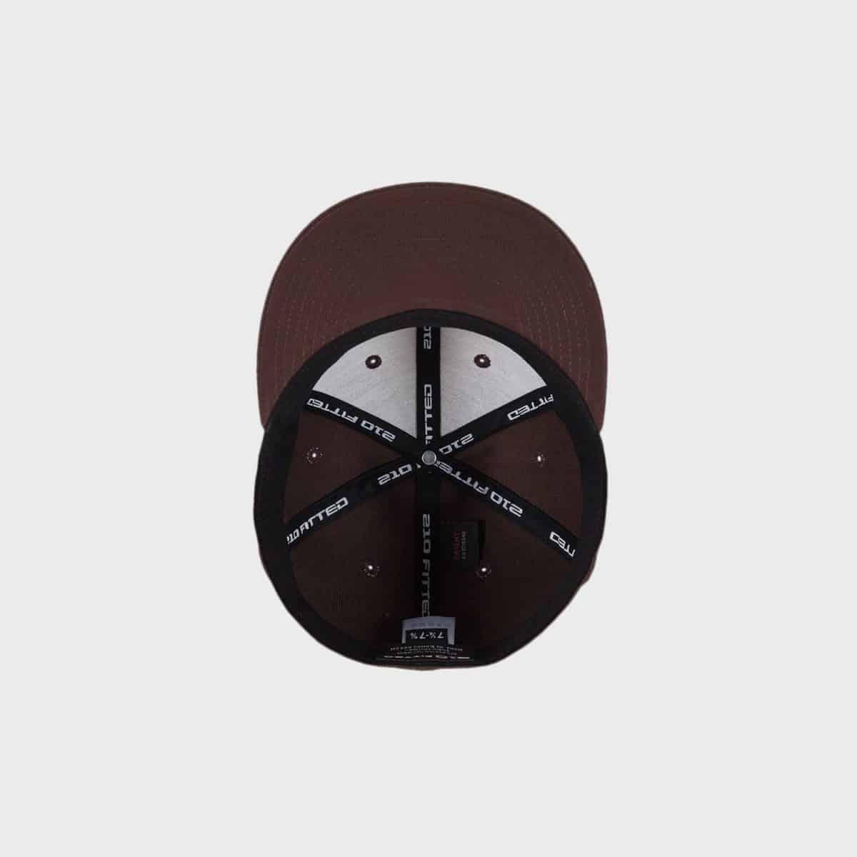 Flexfit FlexfitCaps FFE 6210 Brown Schirm