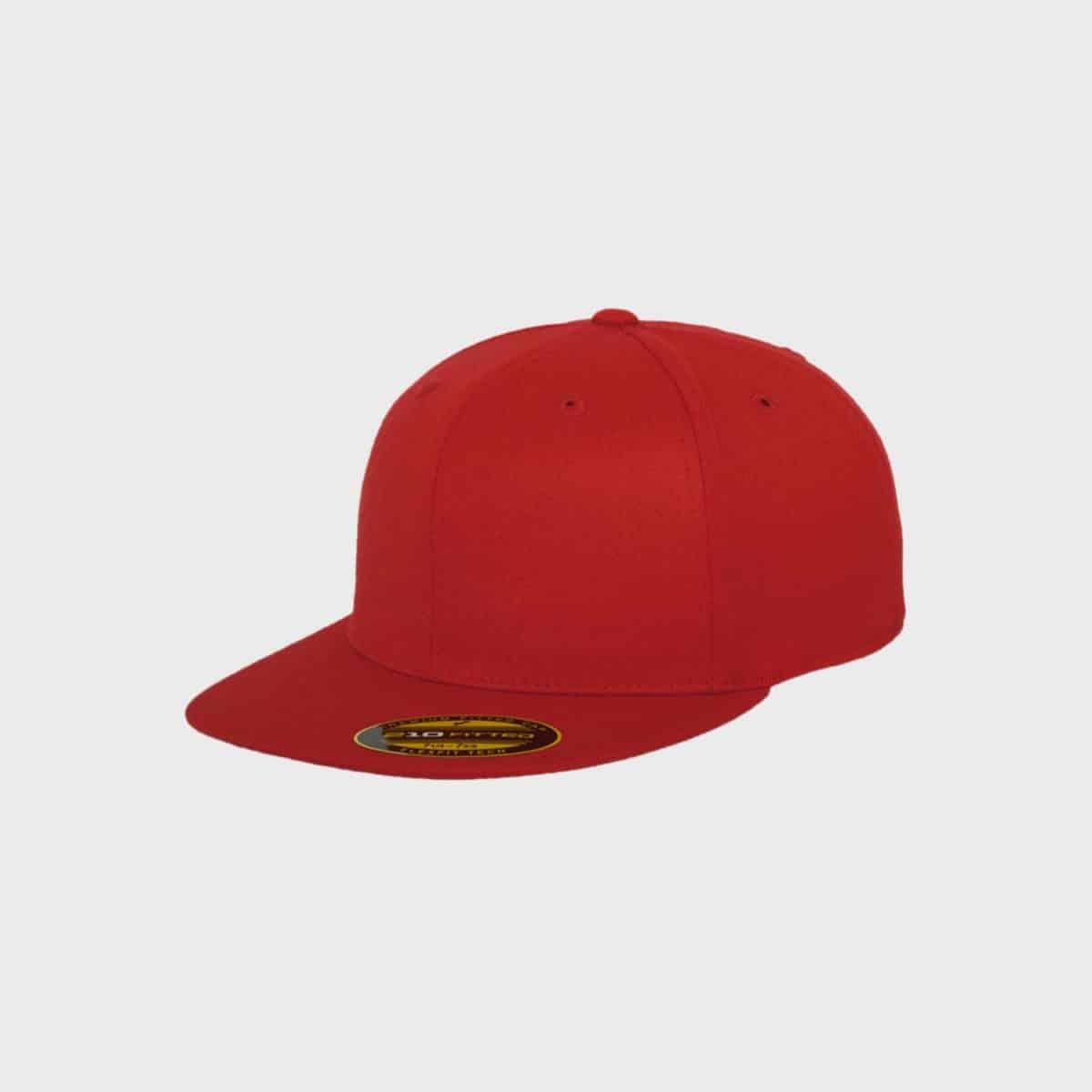 Flexfit FlexfitCaps FFE 6210 Red Front Side