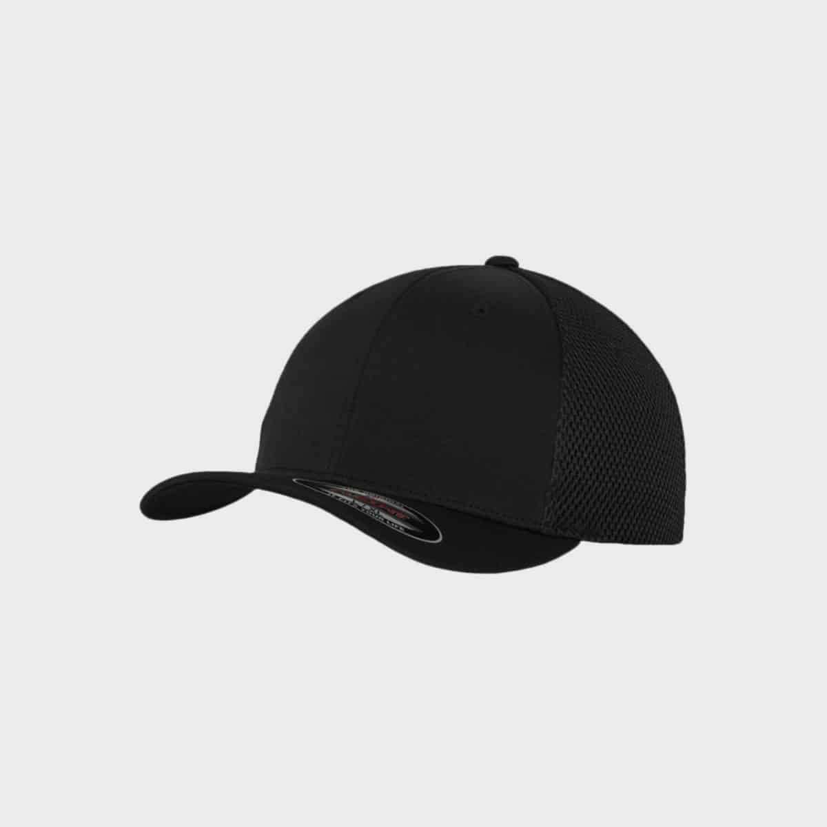 Flexfit FlexfitCaps FFE 6533 Black Front Side