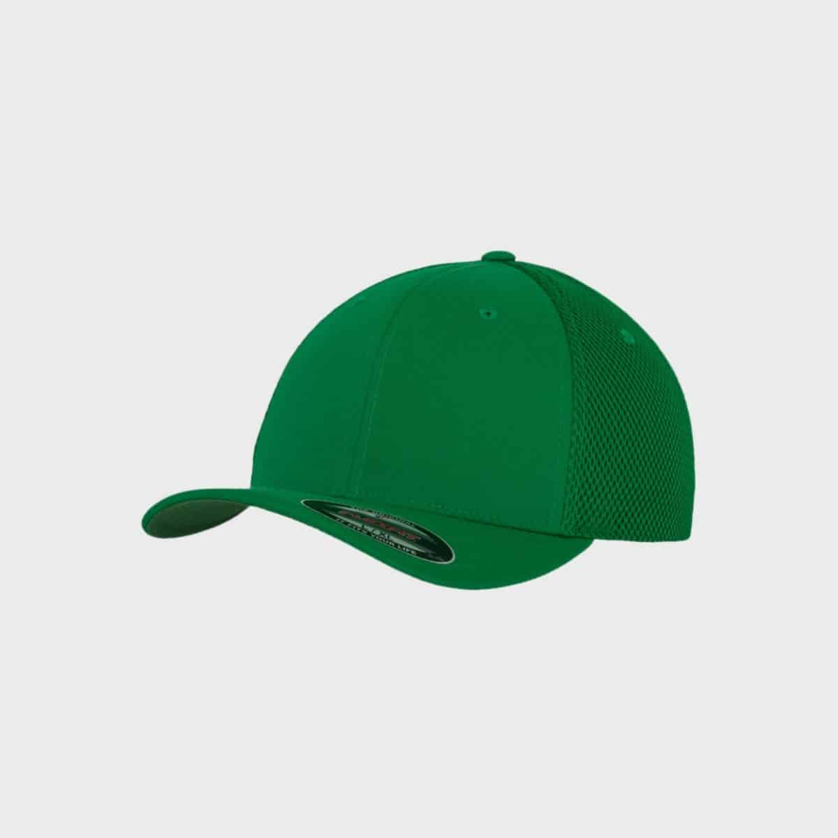 Flexfit FlexfitCaps FFE 6533 Green Front Side