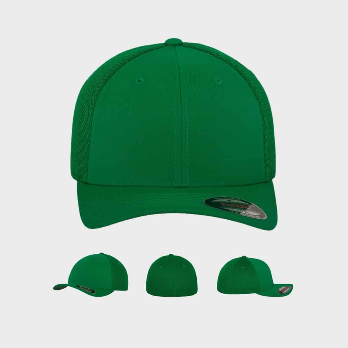 Flexfit FlexfitCaps FFE 6533 Green Front Extra