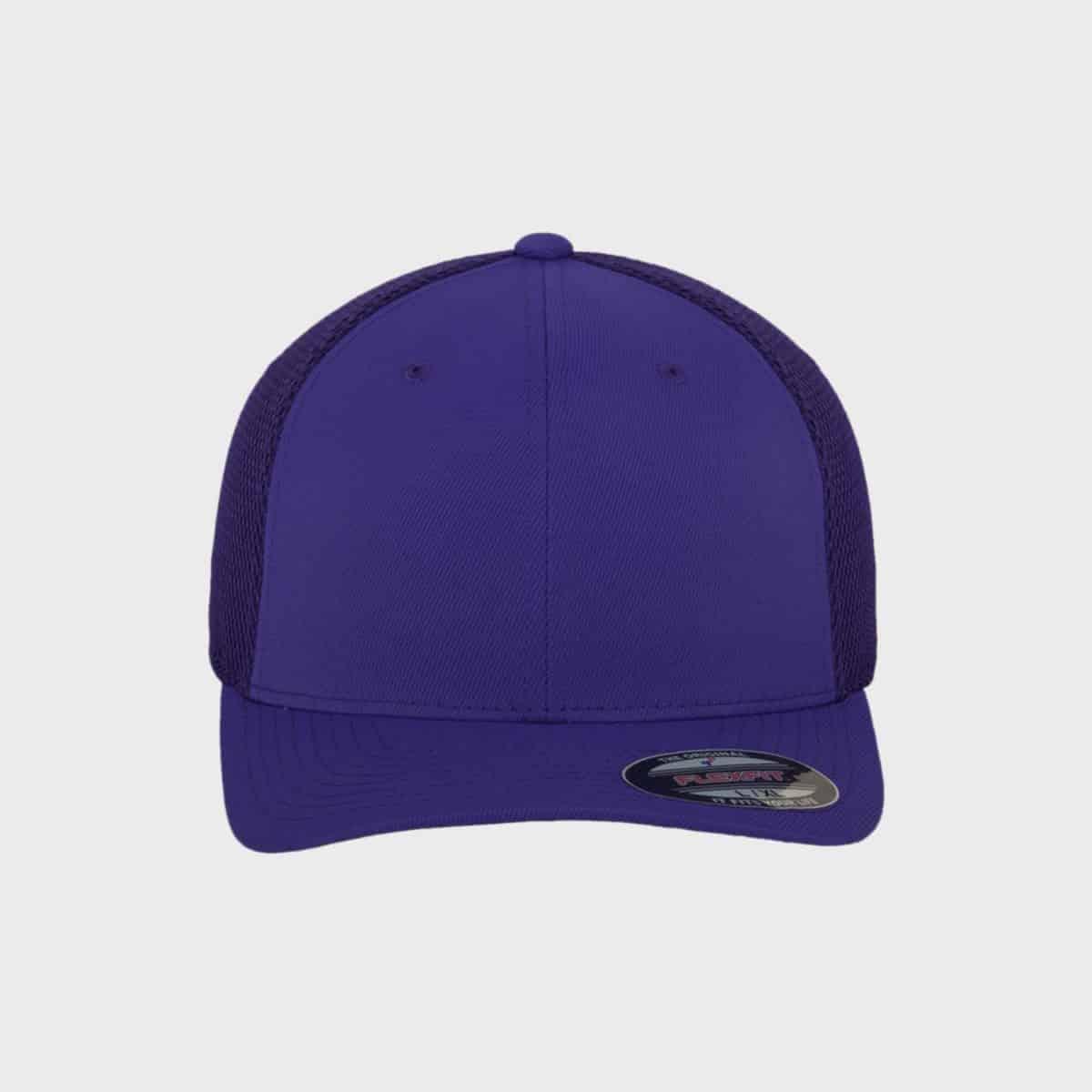 Flexfit FlexfitCaps FFE 6533 Purple Front