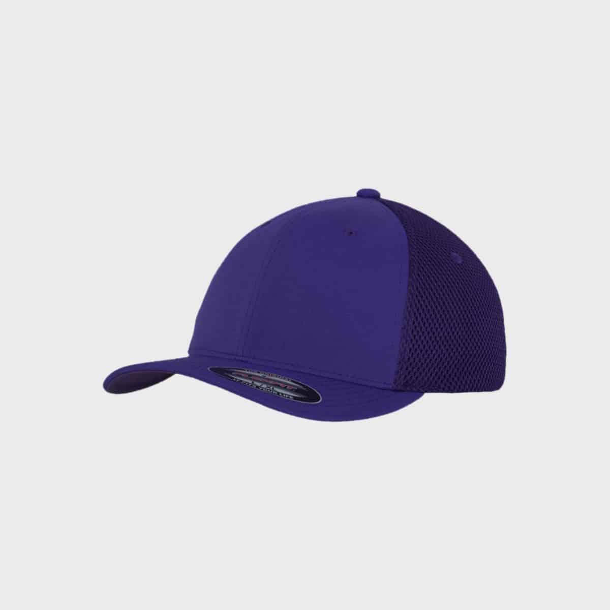 Flexfit FlexfitCaps FFE 6533 Purple Front Side