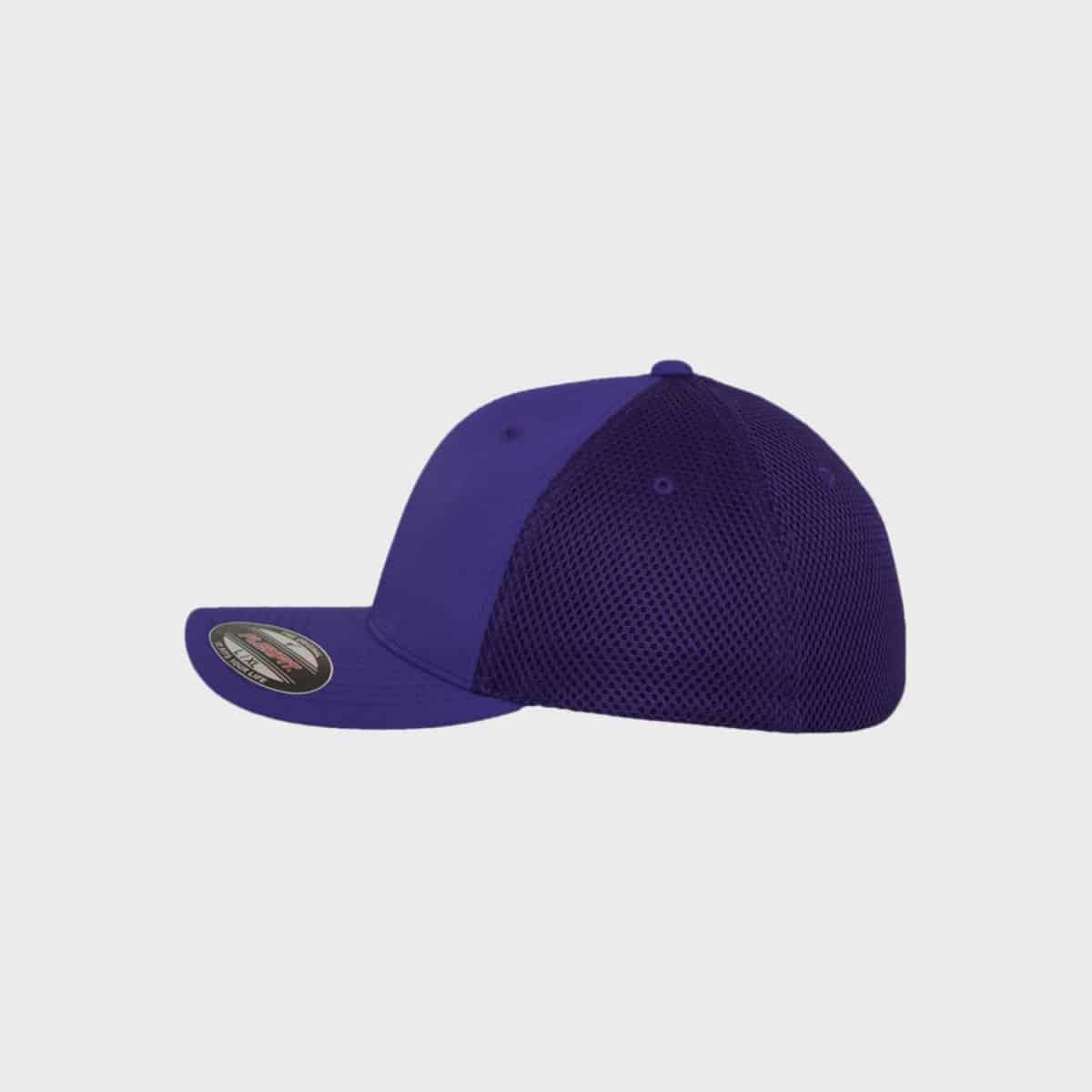 Flexfit FlexfitCaps FFE 6533 Purple Side