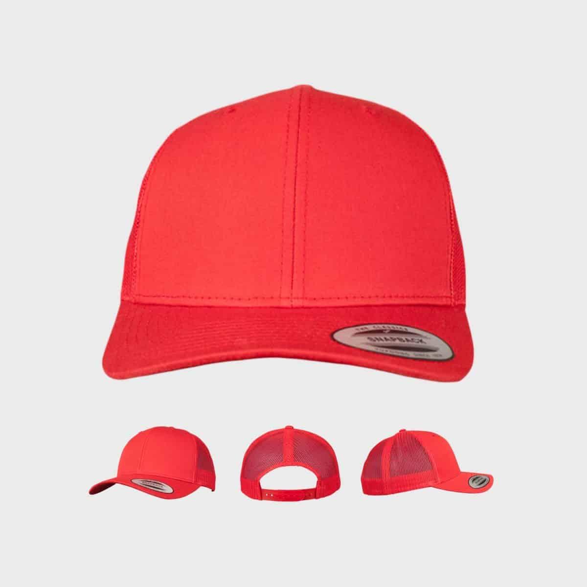 Flexfit FlexfitCaps FFE 6606 Red Front Extra