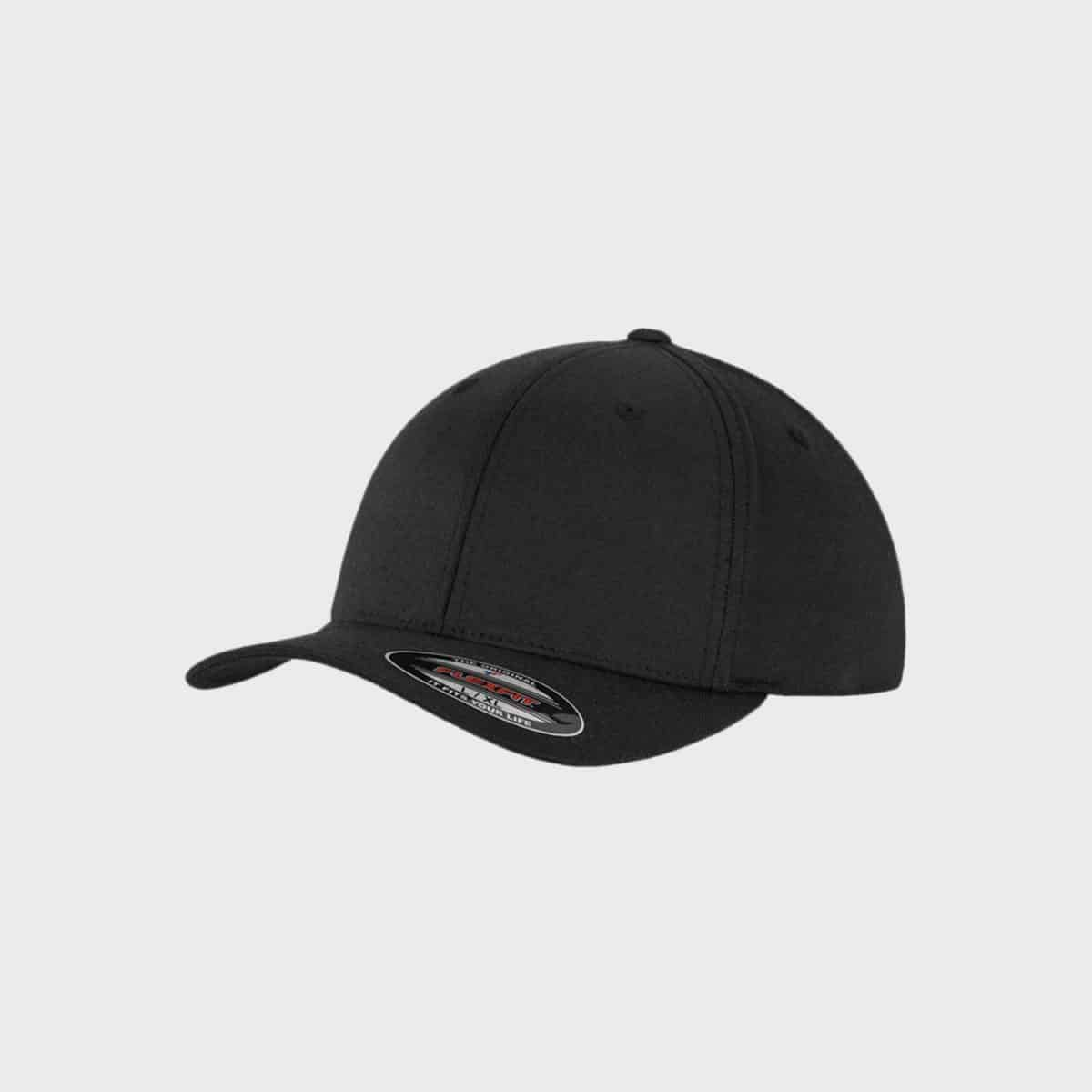 Flexfit MarkenCaps FFE 6588 Black Front Side