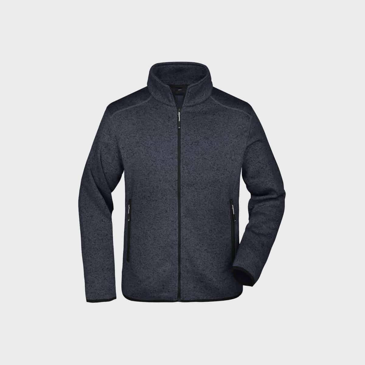 knitted-fleece-jacket-herren-darkgrey-kaufen-besticken_stickmanufaktur