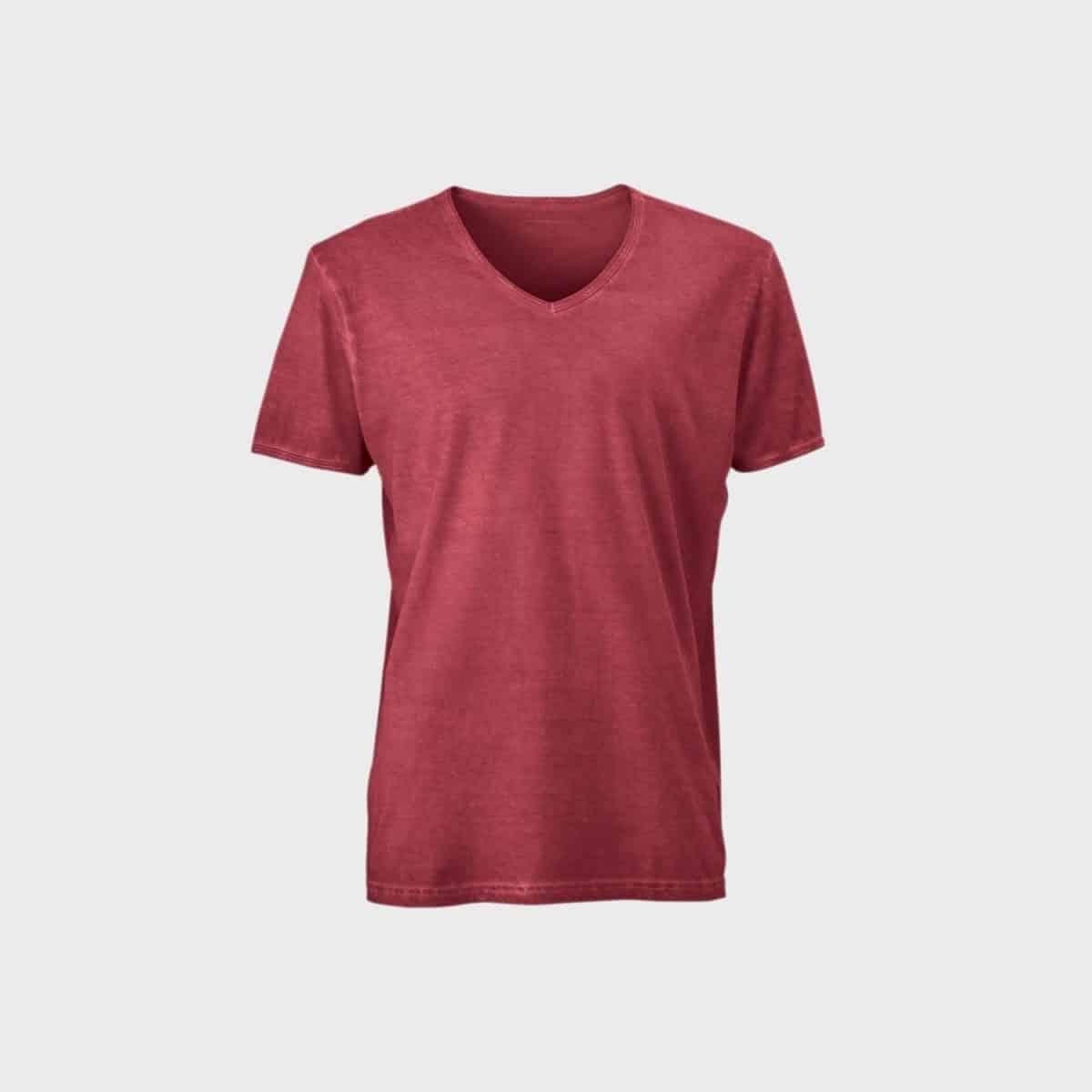 v-neck-gipsy-t-shirt-herren-red-kaufen-besticken_stickmanufaktur