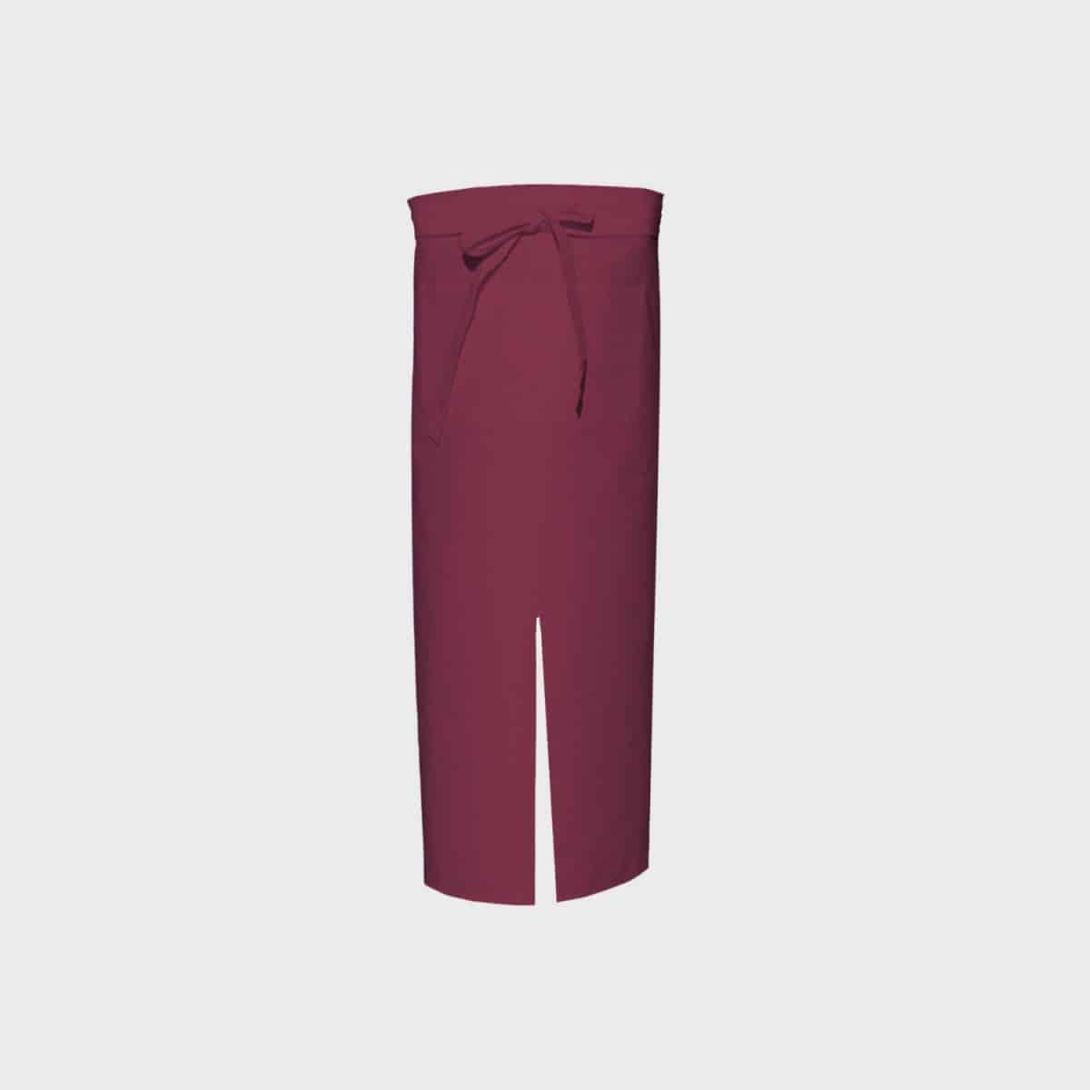 LINK KITCHENWEAR Schürze lang mit Gehschlitz und Tasche