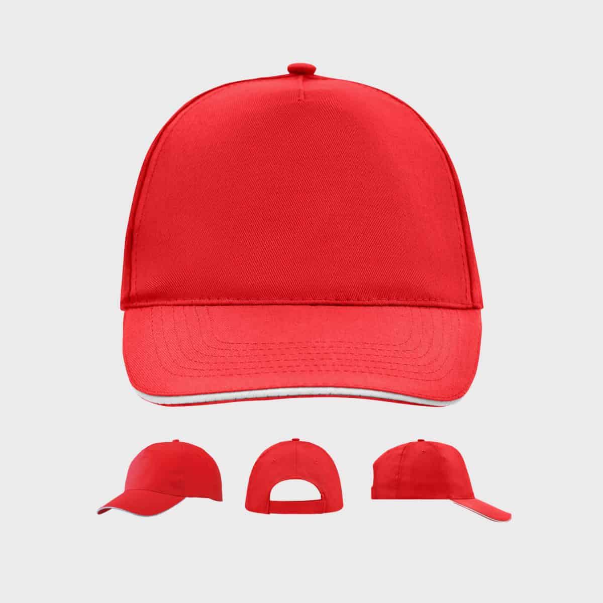 promo-sandwich-cap-5-panel-red-white-kaufen-besticken_stickmanufaktur