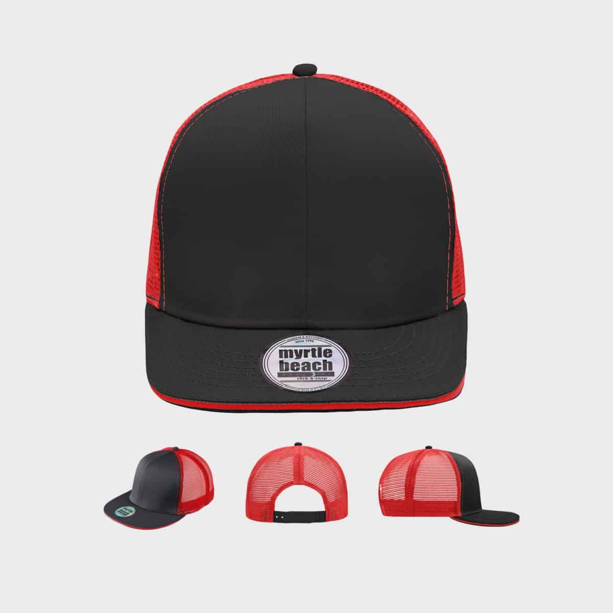 sandwich-mesh-6-panel-snapback-cap-black-red-kaufen-besticken_stickmanufaktur