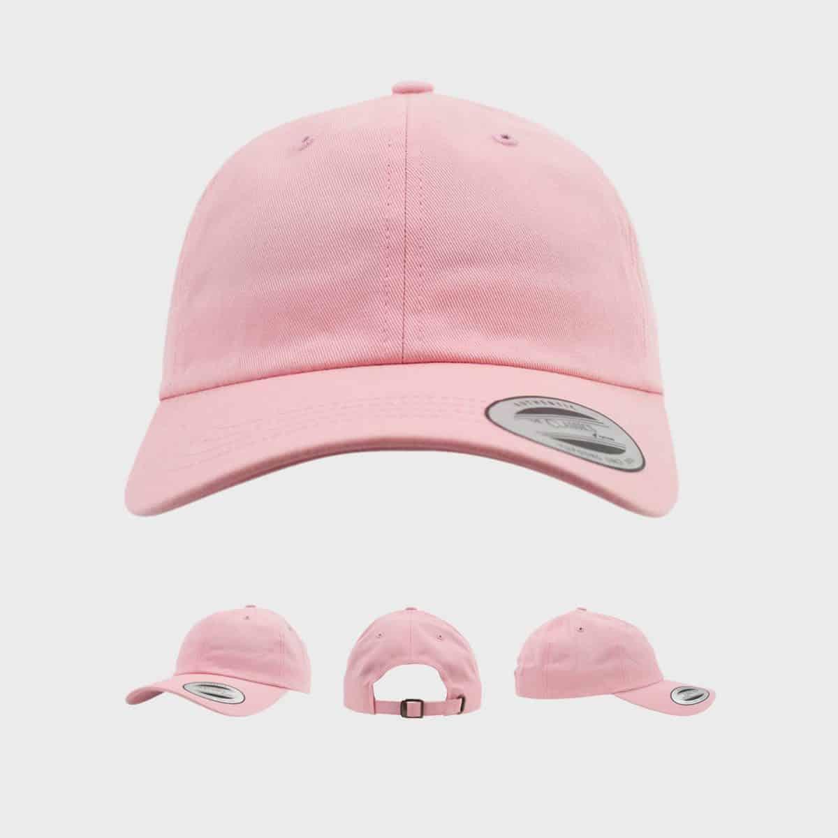 Flexfit YupoongFlexfit FFE 6245CM Pink Front Extra