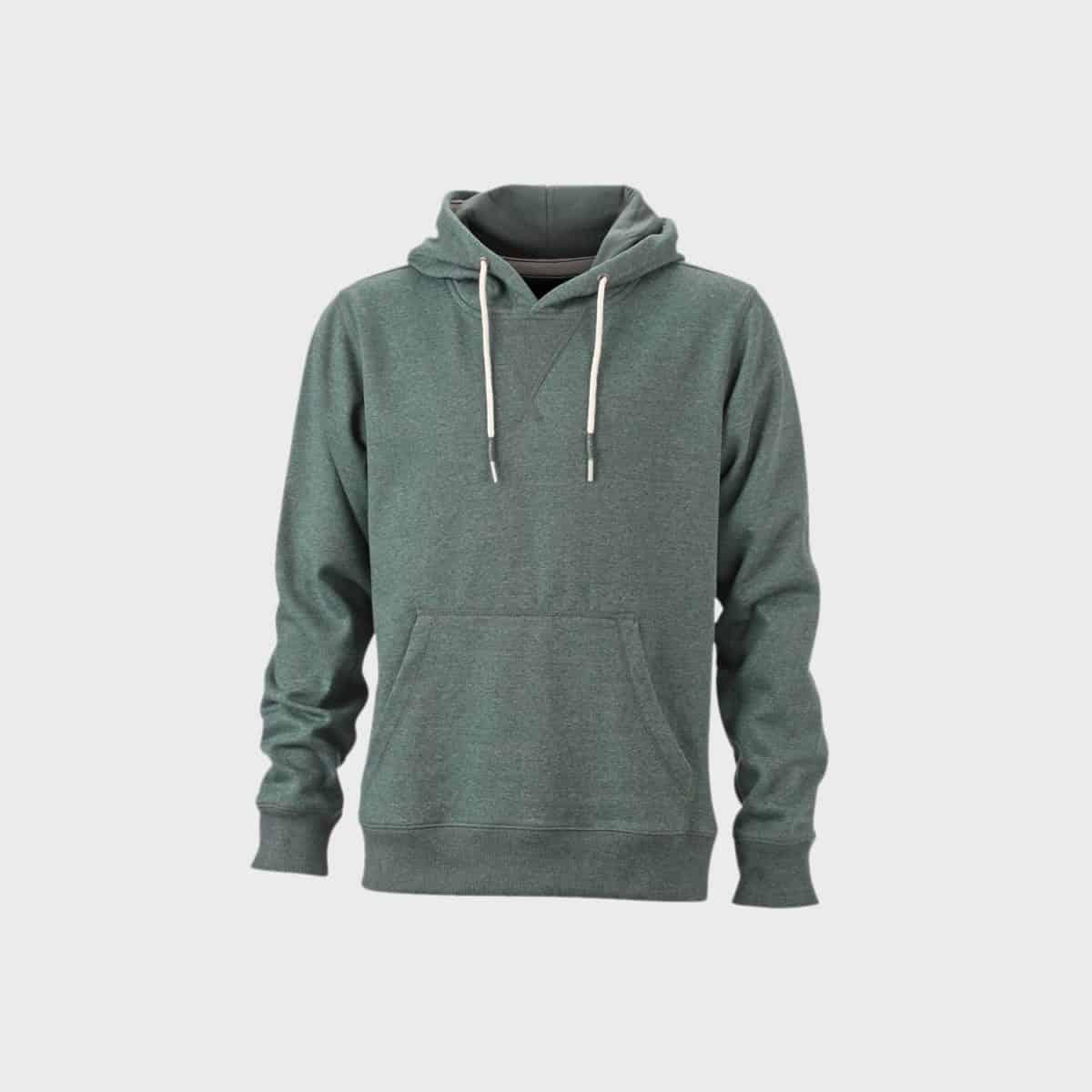 hoodie-herren-melange-dustygreen-kaufen-besticken_stickmanufaktur