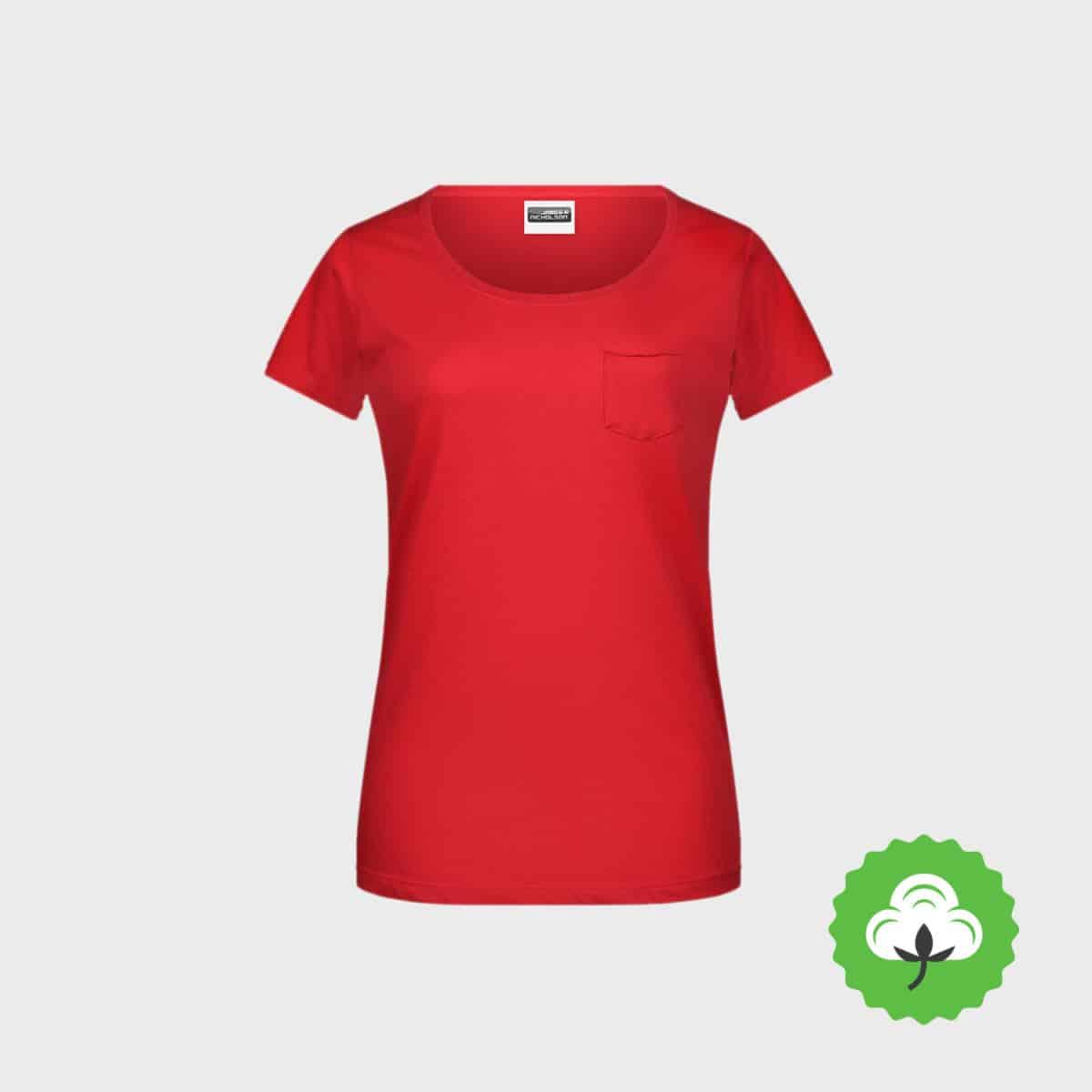 Bio-T-Shirt-mit-Tasche-besticken lassen