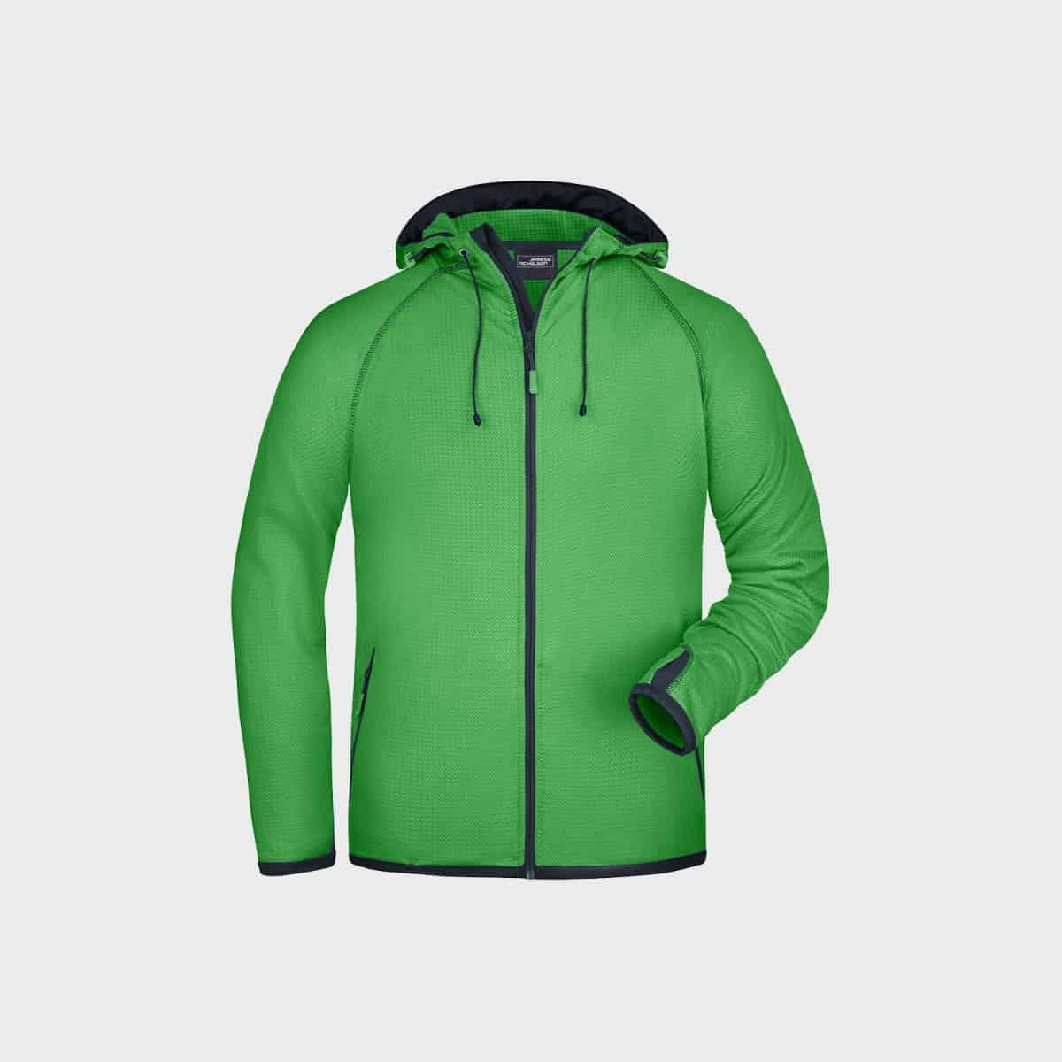 Daiber SweatJackets JN571 Green Carbon Side