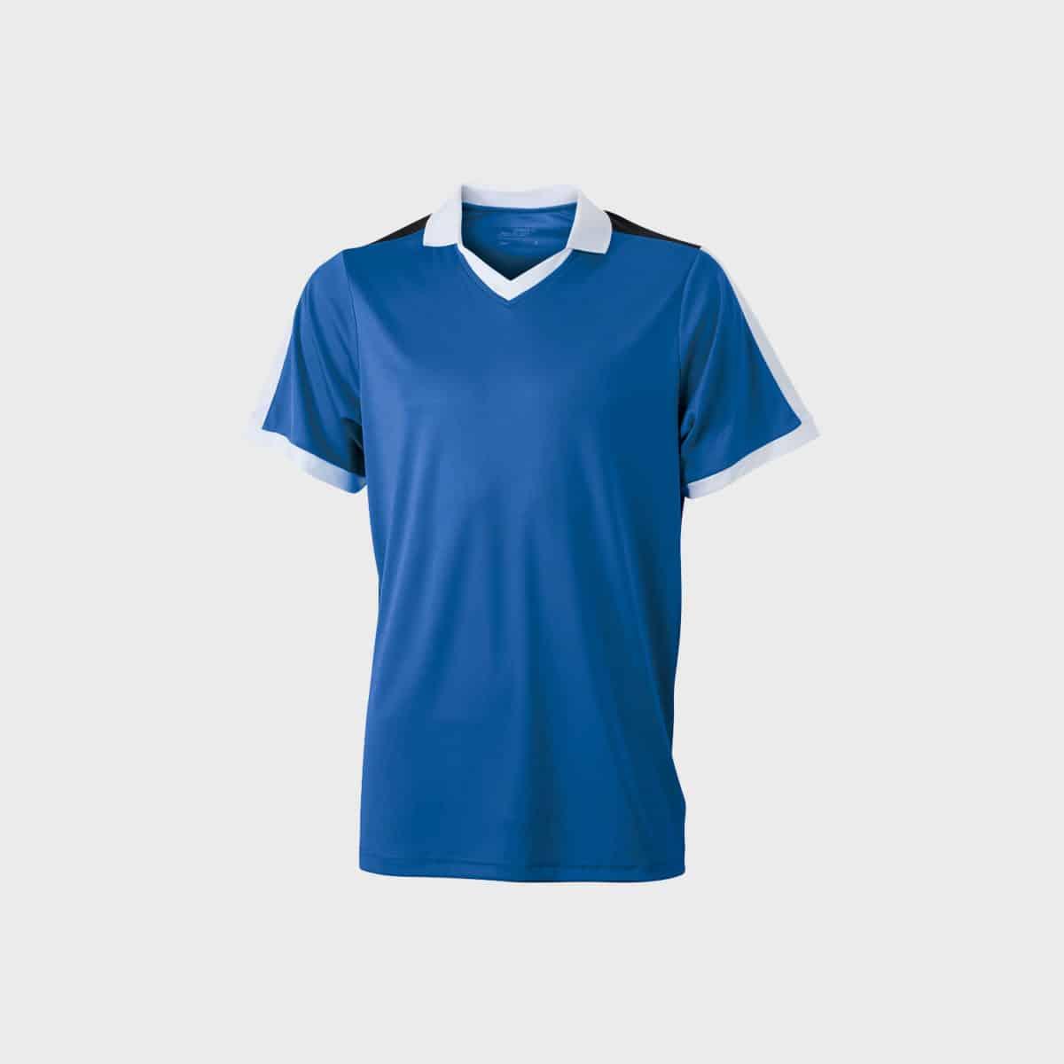 team-shirt-v-neck-t-shirt-unisex-cobalt-shite-black-kaufen-besticken_stickmanufaktur